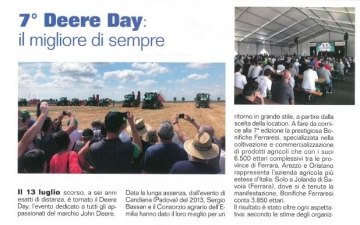 7° DEERE DAY - THE RETURN : IL MIGLIORE DI SEMPRE